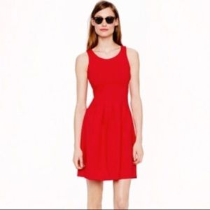 J. Crew Pleated Flare Dress